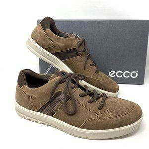 ECCO Men's Sneakers Ennio Cocoa Suede Brown